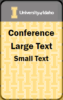 Conference Card Example