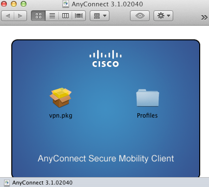 Mac Add AnyConnect to Applications