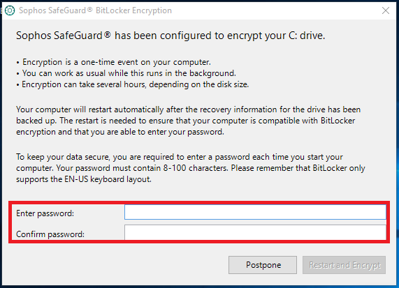 You will be prompted to set a passphrase when you log in.