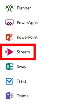 Select 'Stream'