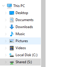 Once the tool is done, your drives should show up under your computer drives.